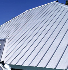 Example of metal roof