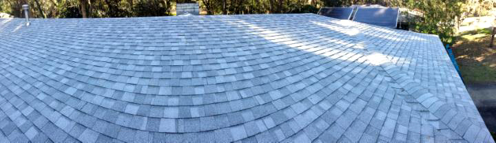 Shingle roof installation by Godwin Green Roofing